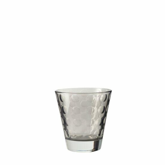 Leonardo Optic pohár whiskys 215ml szürke