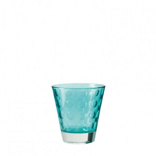 Leonardo Optic pohár whiskys 215ml kék