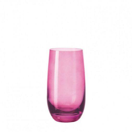 Leonardo Sora pohár üdítős 390ml lila