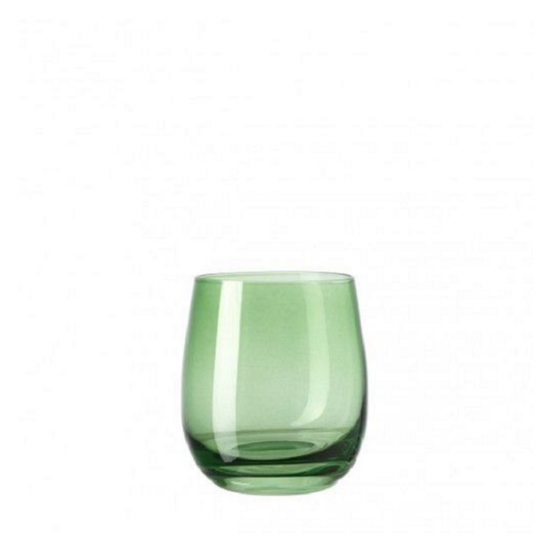 Leonardo Sora pohár whiskys 360ml zöld