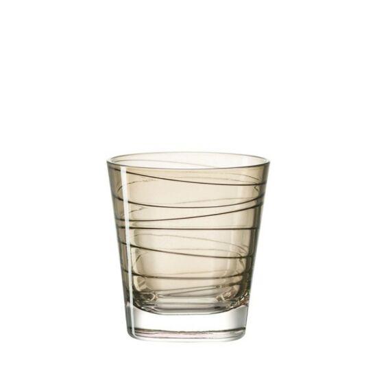 Leonardo Vario pohár whiskys 250ml barna