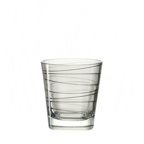 Leonardo Vario pohár whiskys 250ml szürke