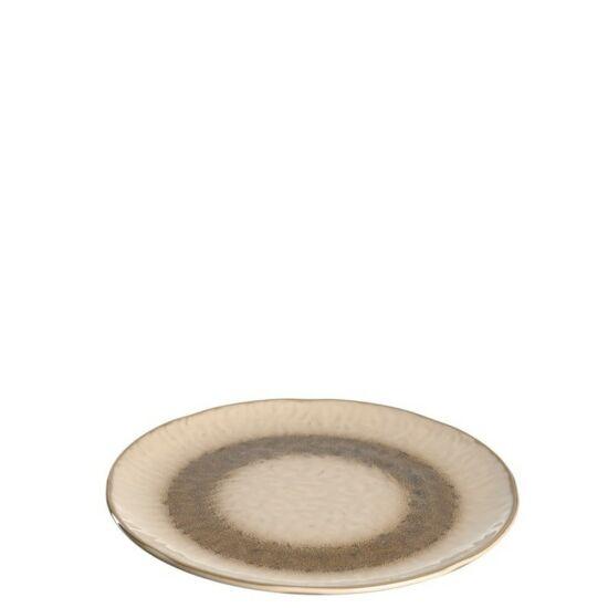 Leonardo Matera kerámia desszertes-reggeliző tányér 23cm homok