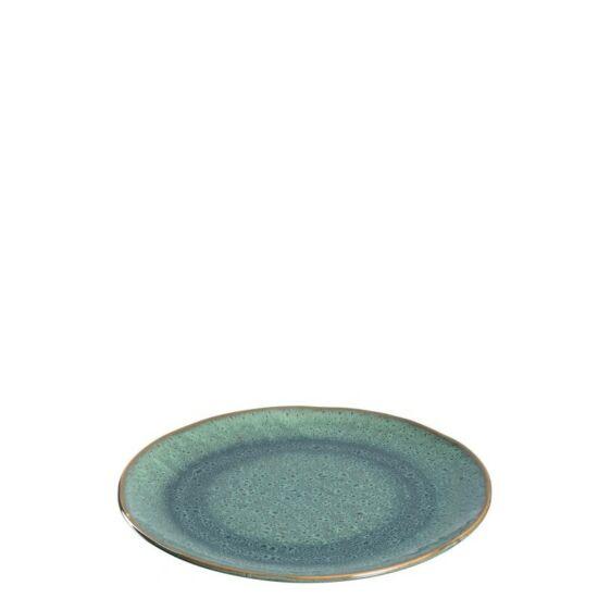 Leonardo Matera kerámia desszertes-reggeliző tányér 23cm zöld