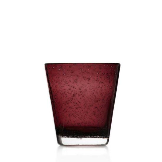 Leonardo Burano pohár üdítős 330ml bordó