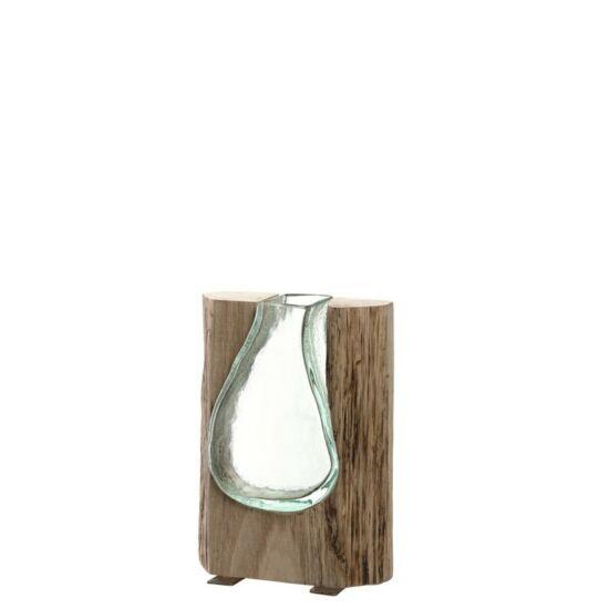 Leonardo Casolare váza 20cm fába fújt