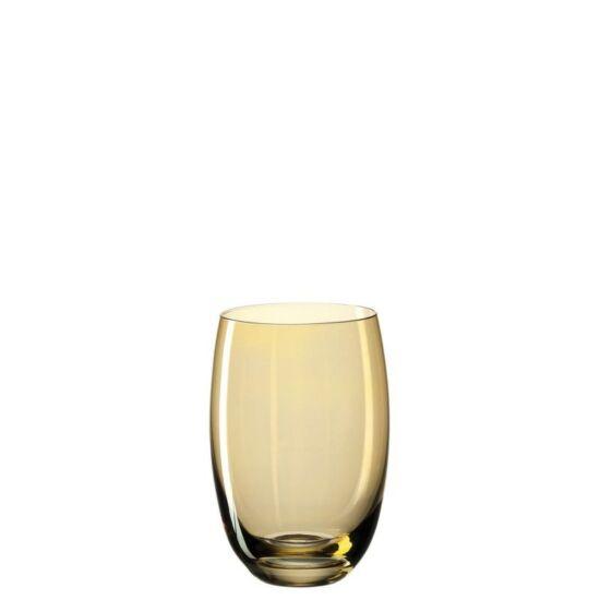 Leonardo Lucente pohár üdítős 460ml borostyán