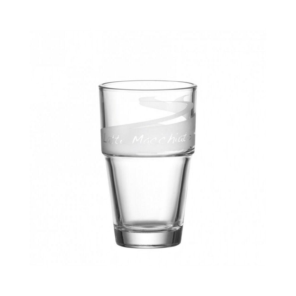 Leonardo Solo pohár latte macchiatós 370ml szatin