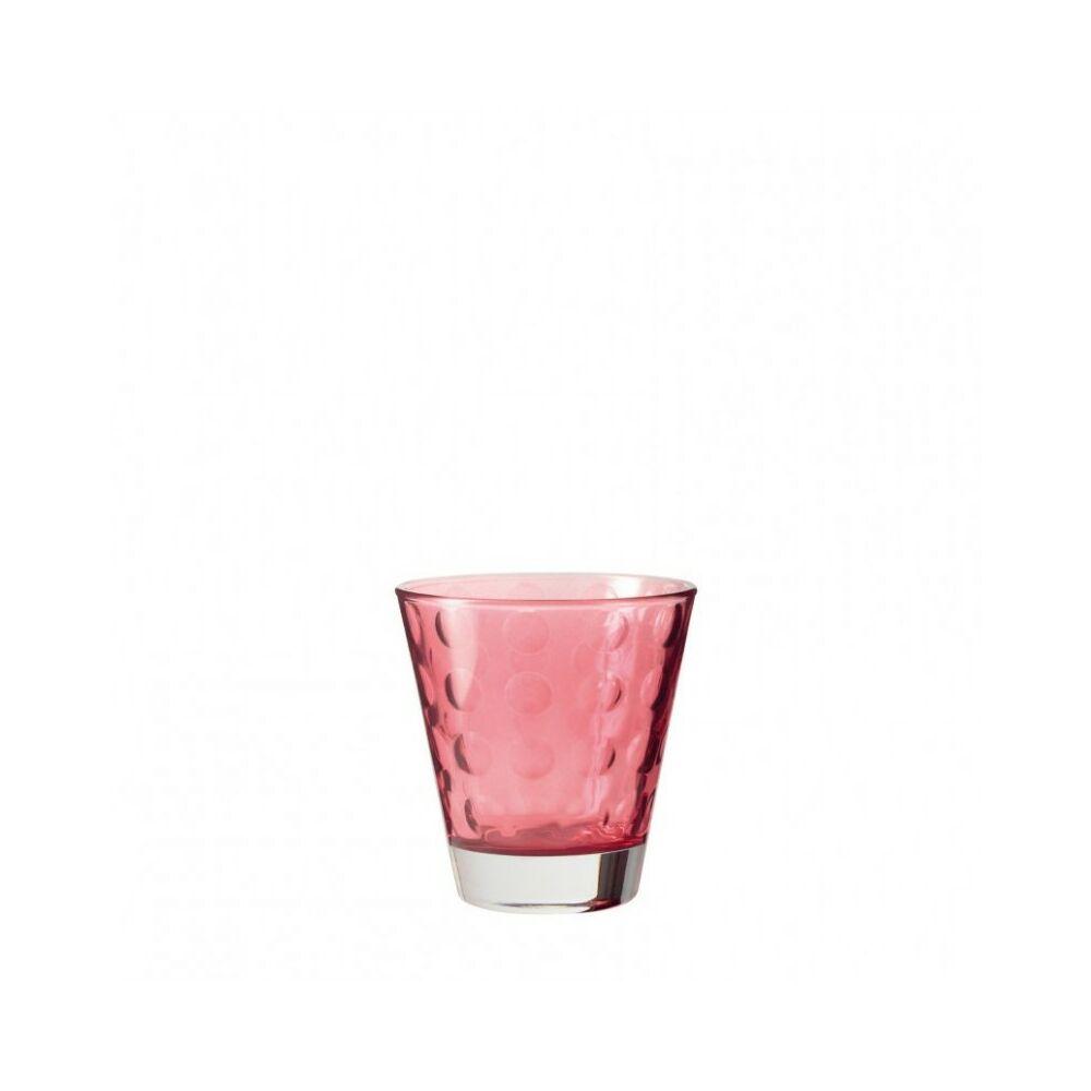 Leonardo Optic pohár whiskys 215ml piros