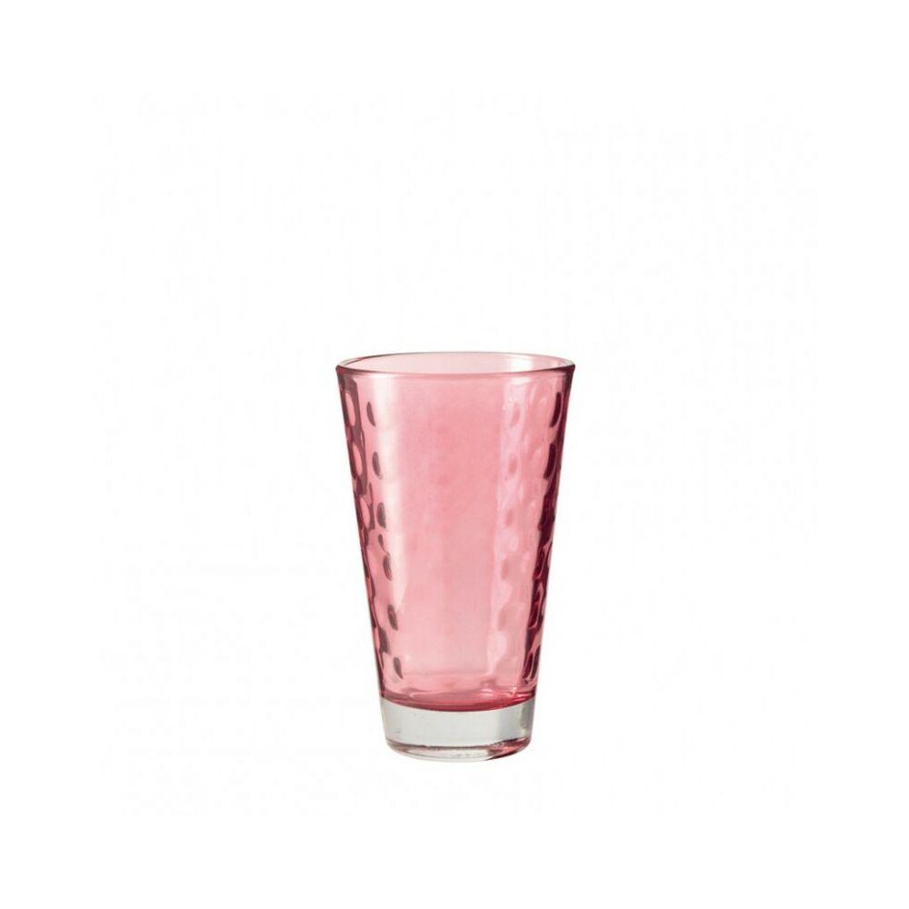 Leonardo Optic pohár üdítős 300ml piros