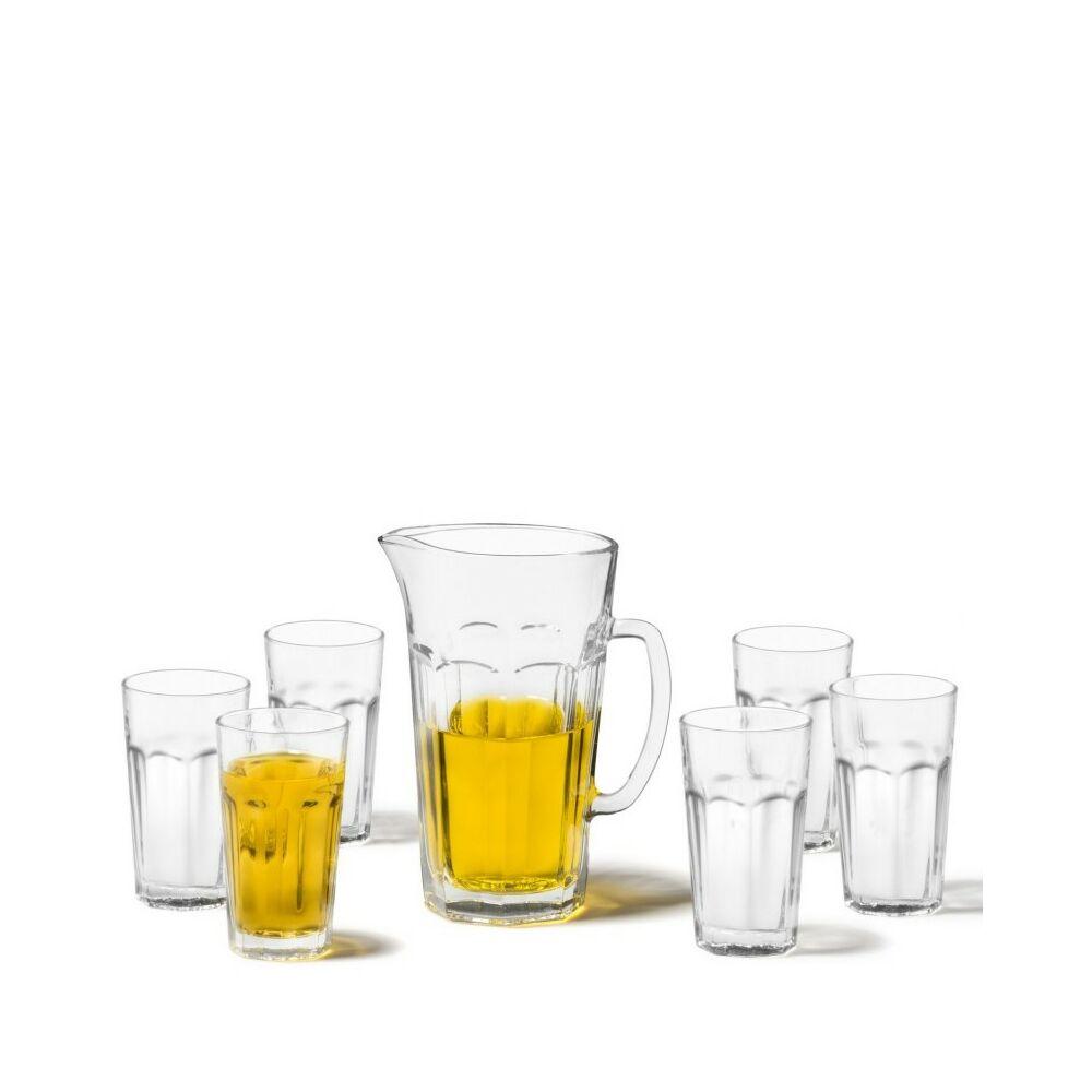 Leonardo Rock pohár készlet kancsóval 7részes