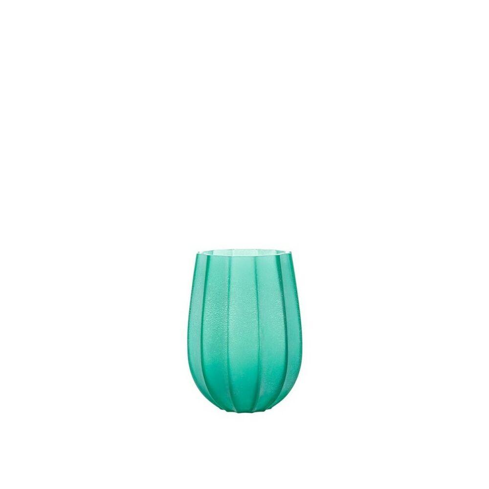 Leonardo Ferrara viharlámpa-váza 21cm türkiz