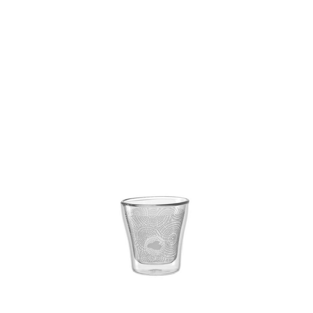 Leonardo DUO Decor dupla falú pohár szett 2részes 85ml