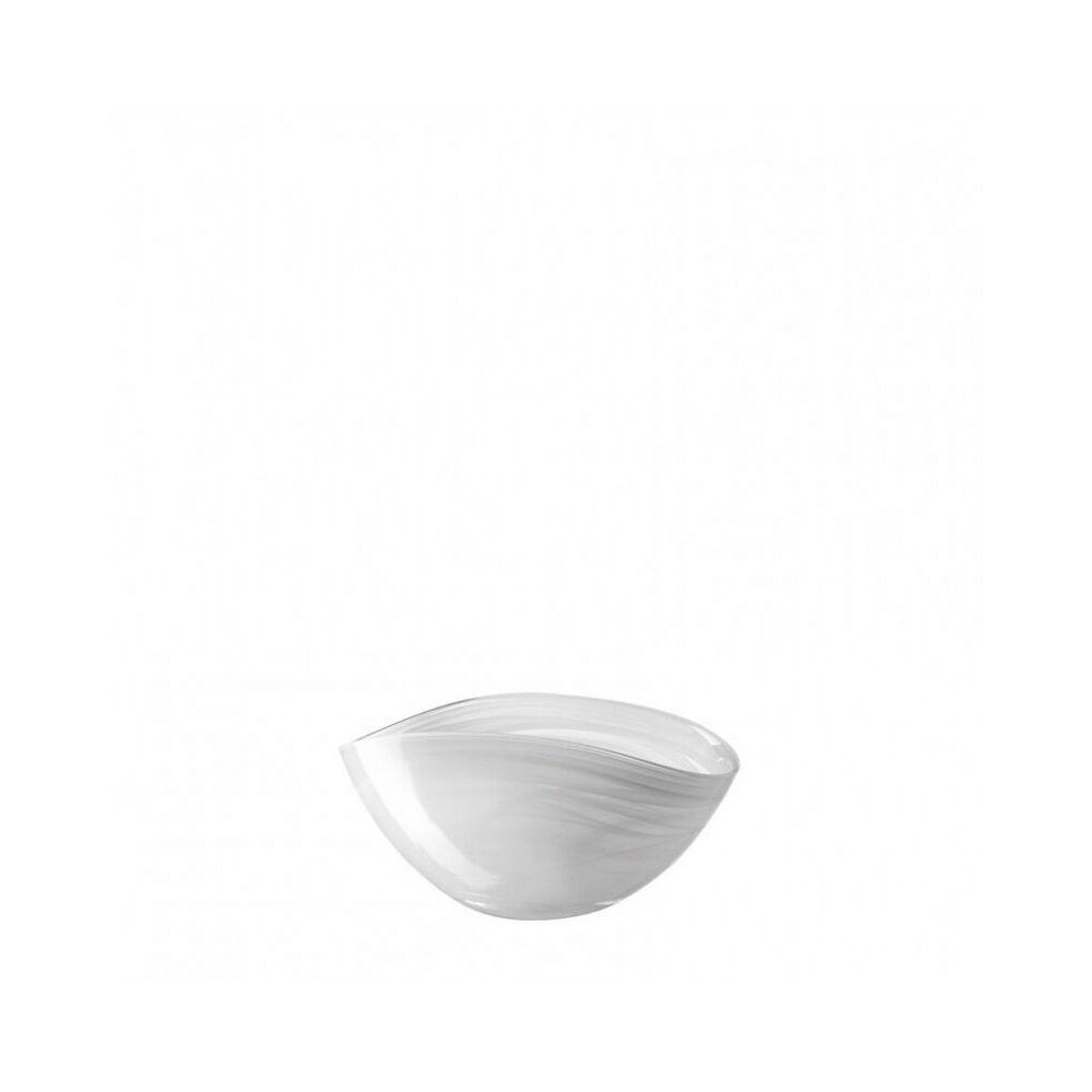 Leonardo Alabastro tálka 20x12cm ovális fehér