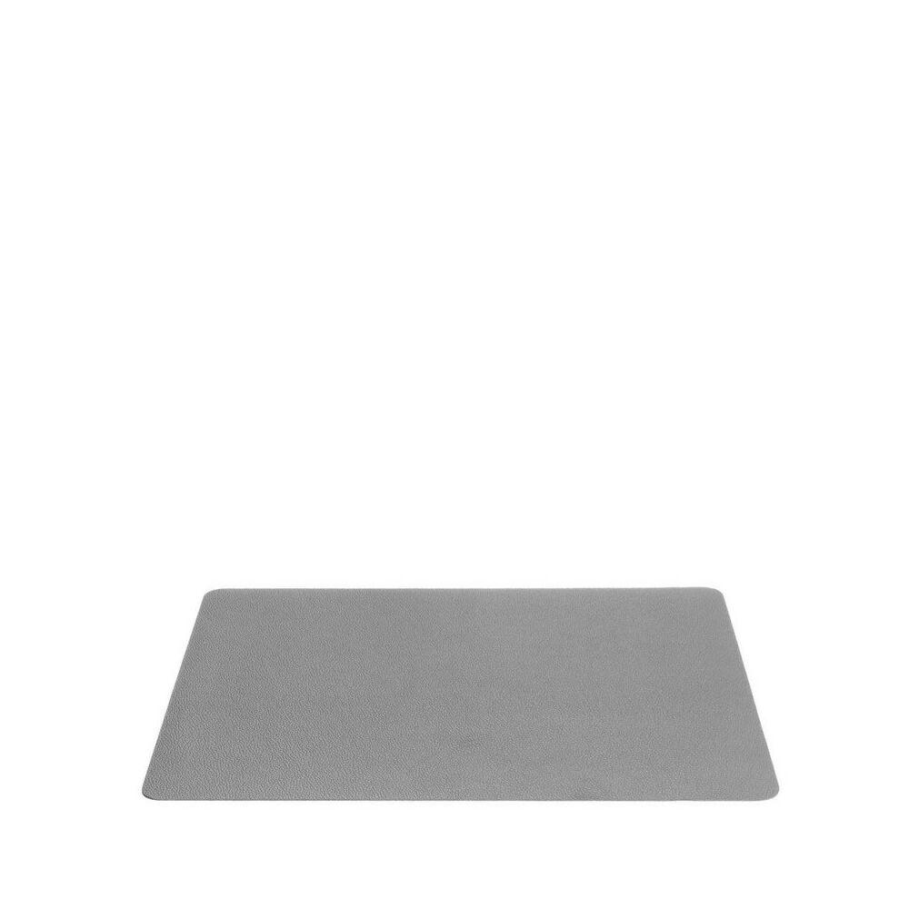 Leonardo Cucina tányéralátét 33x46cm szürke bőr