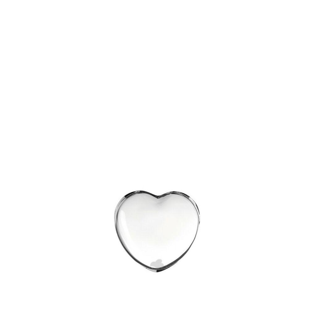 Leonardo Emozione szobor 7cm szív alakú