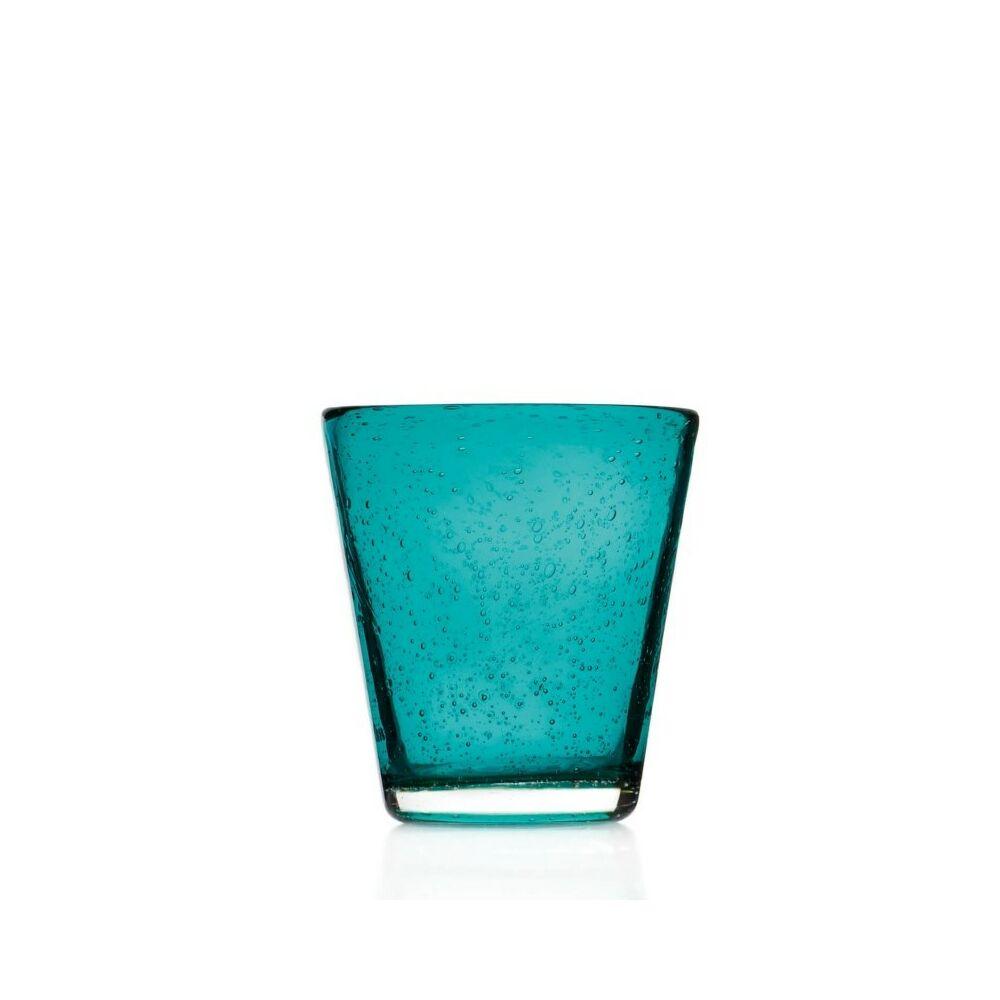 Leonardo Burano pohár üdítős 330ml türkiz
