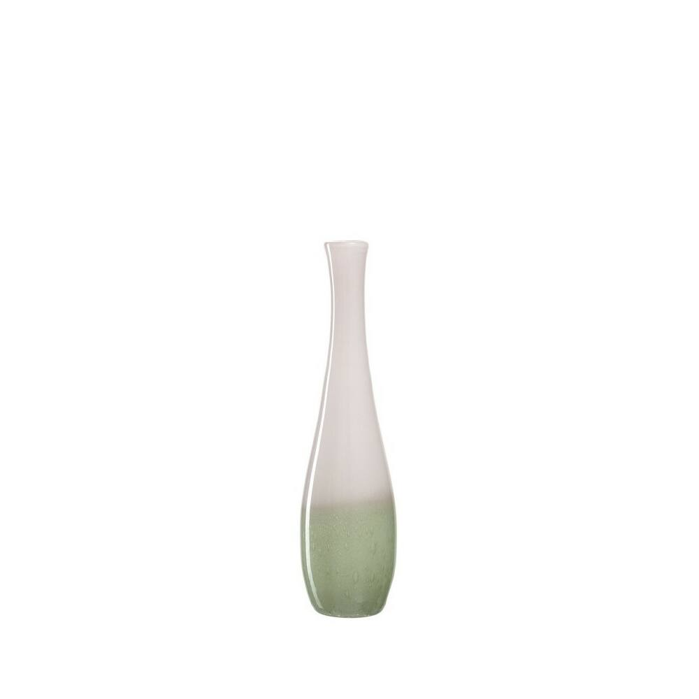 Leonardo Casolare váza 40cm fehér-zöld