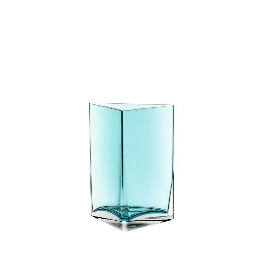 Leonardo Centro váza 23cm háromszög türkiz