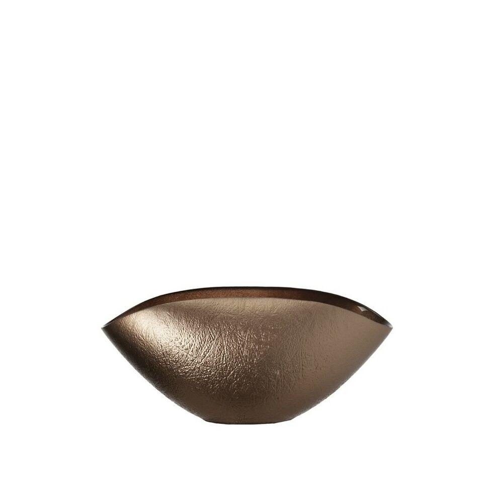 Leonardo Como tál 28x14cm ovális bronz