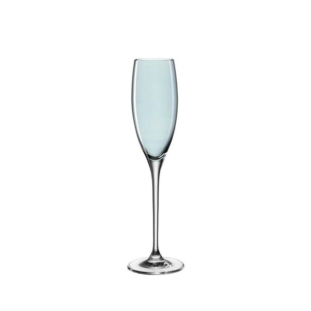 Leonardo Lucente pohár pezsgős 220ml kék