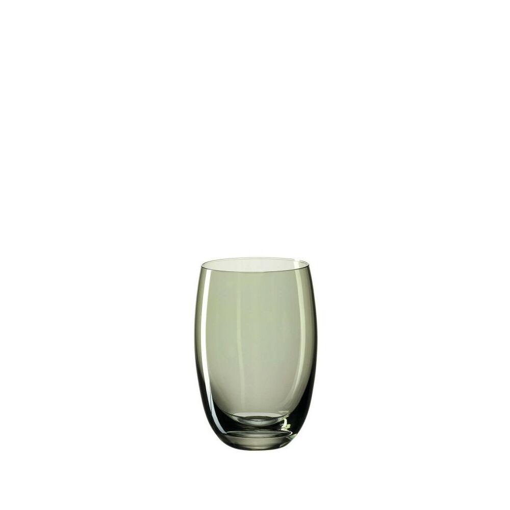 Leonardo Lucente pohár üdítős 460ml zöld