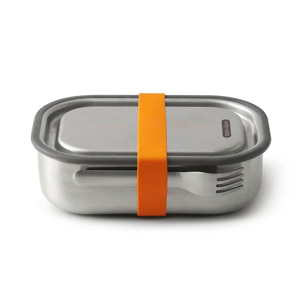 BB BAM rozsdamentes acél ételhordó nagy narancs