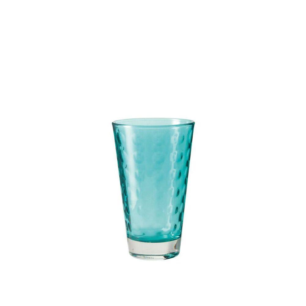 Leonardo Optic pohár üdítős 300ml kék