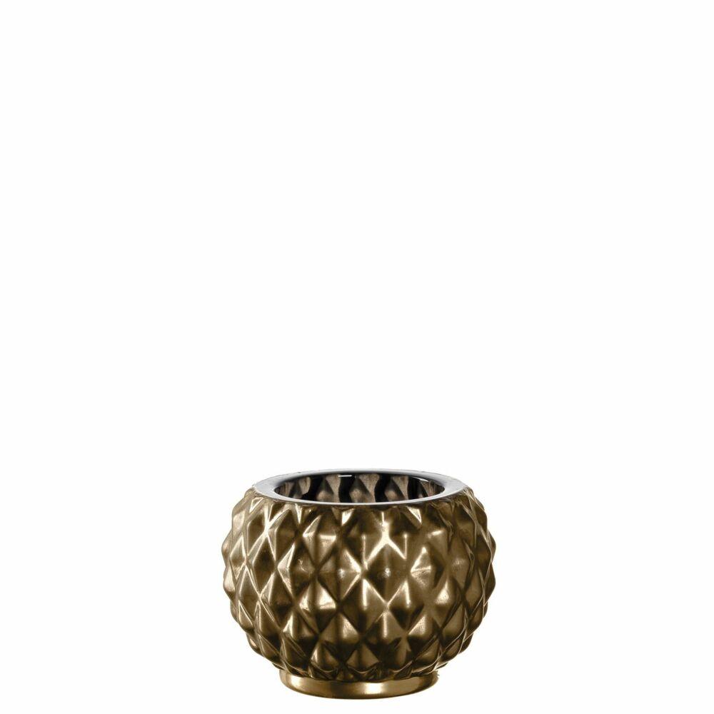 Leonardo Poesia mécsestartó 5cm arany