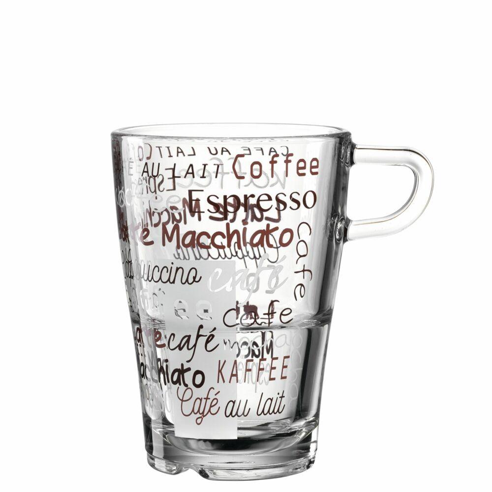 Leonardo Senso Cafe latte macchiatós bögre