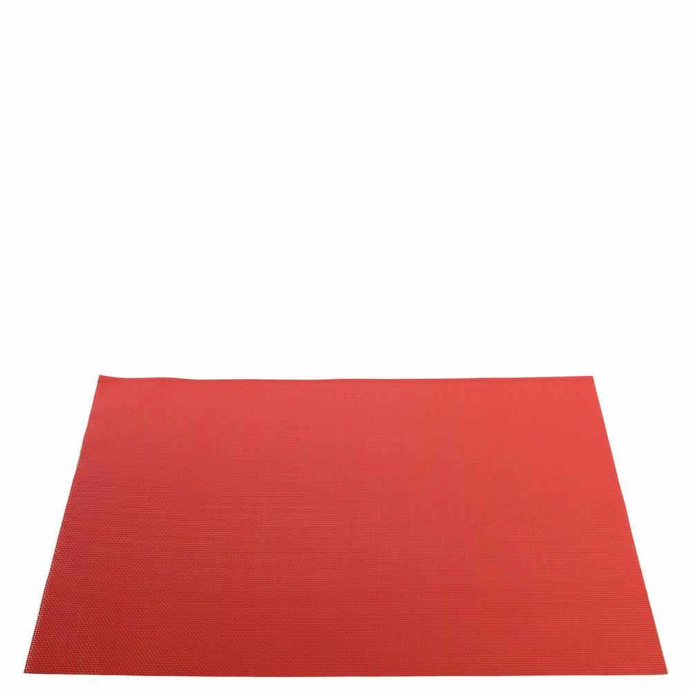 Leonardo Colorata tányéralátét 35x48cm korall