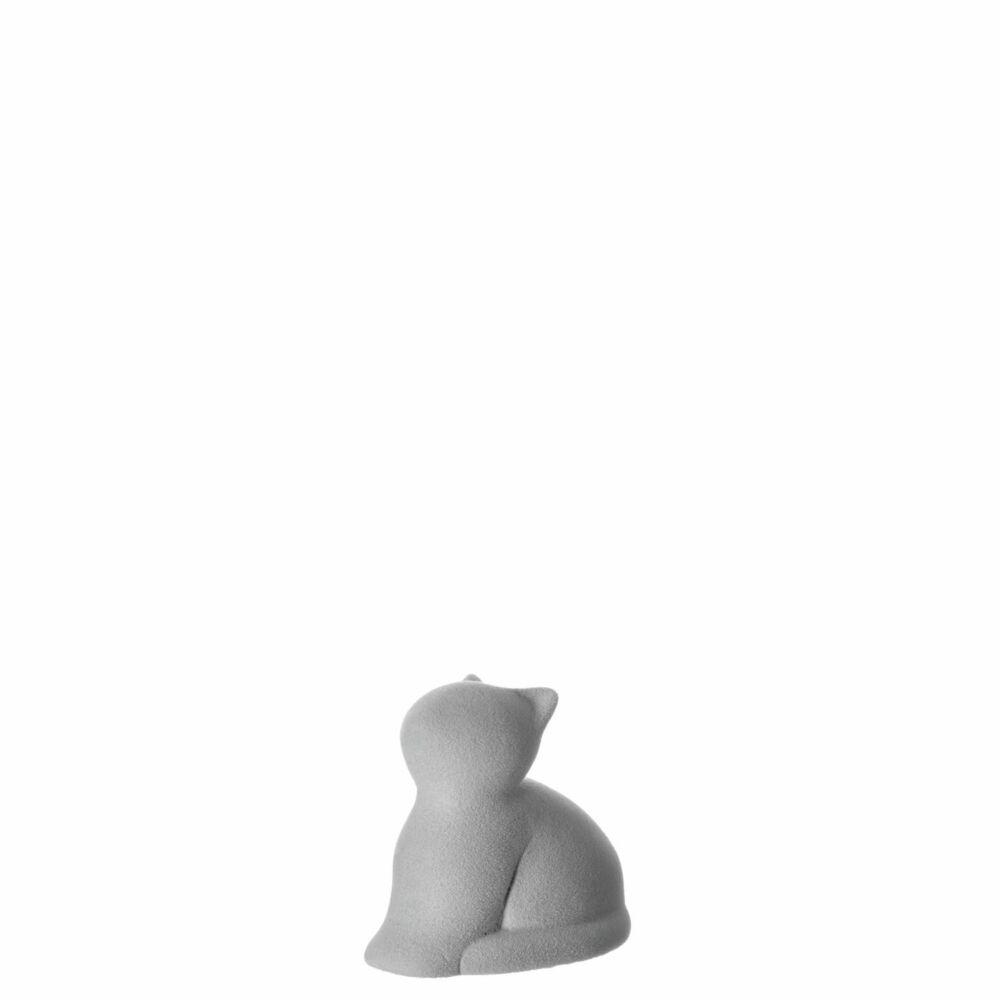 Leonardo Micia cica figura 8cm szürke