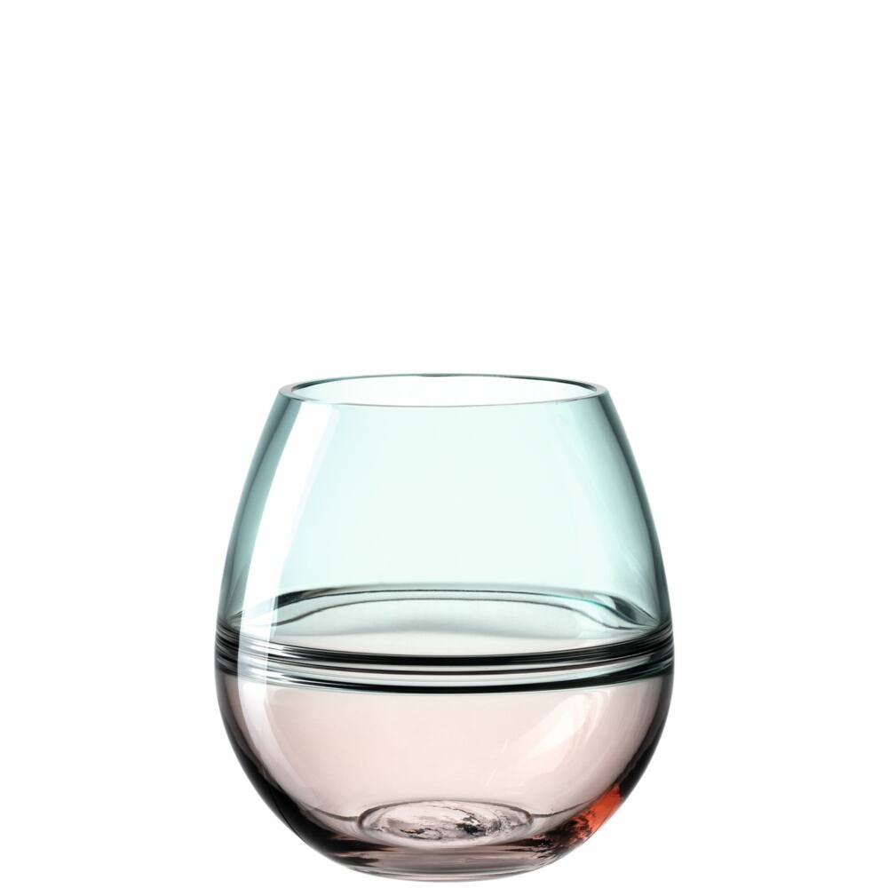 Leonardo Arona váza 17cm rózsaszín-türkiz