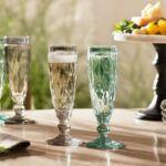 Leonardo Brindisi Grey pohár pezsgős 140ml