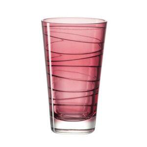 Leonardo Vario pohár üdítős 280ml piros