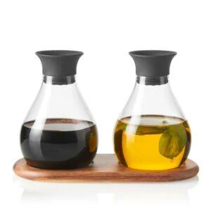 Leonardo Firenze olaj-ecet kiöntő szett tálcán 3részes