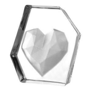 Leonardo Emozione levélnehezék 14cm szív