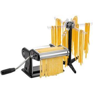 GEFU Pasta Perfetta Nero professzionális tésztakészítő szárító állvánnyal
