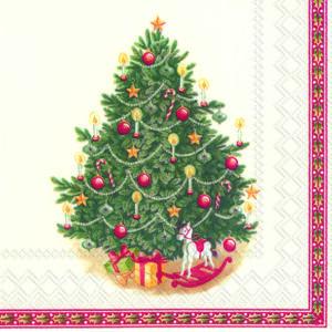 IHR papírszalvéta csomag 33x33cm TOYS FANTASY TREE