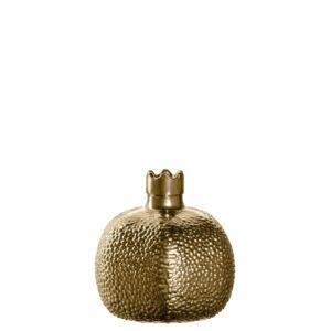 Leonardo Ornare gránátalma alakú váza 9cm, arany