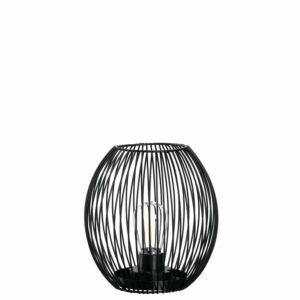 Leonardo Casolare LED lámpás 18cm fekete