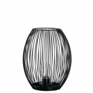 Leonardo Casolare LED lámpás 24cm fekete